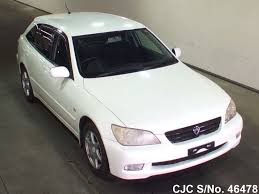 lexus altezza for sale in japan 2003 toyota altezza pearl for sale stock no 46478 japanese