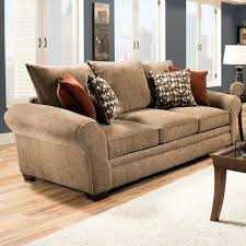 Cool Sofa Pillows by Awesome Brown Leather Sofas And Pillows With White Wodoen Frame
