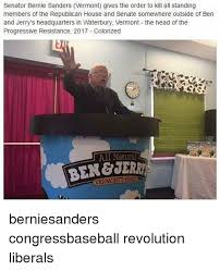 bernie sanders house in vermont senator bernie sanders vermont gives the order to kill all standing