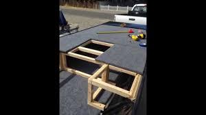 jon boat floor plans 14 foot jon boat modification youtube