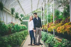 Belfast Botanical Gardens by Queens University Belfast Engagement Sarah U0026 David Natalie