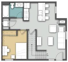 2 story floor plans bison run 3 bedroom 2 story residence dining services