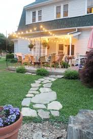 Patio String Lighting by Diy Patio String Lights