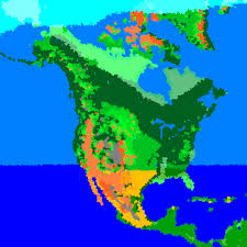 World Biomes Map by Biome Map Of North America Roundtripticket Me