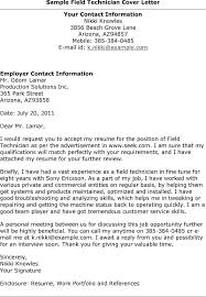 technical resume cover letter cover letter for technical support