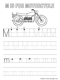 m letters alphabet coloring pages realistic coloring pages