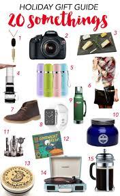 gift guide for 20 somethings