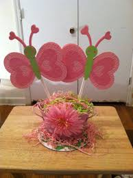 butterfly centerpieces baby shower butterfly theme butterflies baby shower centerpieces