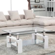 Coffee Table Nest by Uenjoy Nest Of Tables White Gloss Coffee Table Side Table Living
