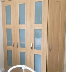 can you use chalk paint on melamine kitchen cabinets transforming melamine glass wardrobes dove cottage