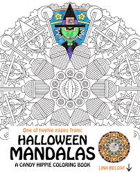 halloween candy coloring pages halloween mandala coloring page eye of newt printable