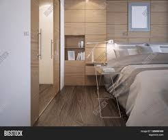 Bedroom Designs With Hardwood Floors Beautiful Bedroom Design Wood Panel Wall Decoration With Niche