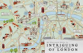 Worlds Of Fun Map by London Map Tutorial U2013 Illustrated Maps