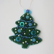 Green Decoration For Christmas by New Decoration For Christmas Handmade From Sandrahandmadeshop On