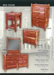 Bedroom Furniture Repair Manataka Ozark Cedar Furniture Cabin Ranch Lake Home U0026 Lodge