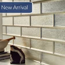 subway tile beveled glass tile silver glisten 4 x 12 subway tile collection