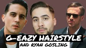 what product does g eazy use in his hair classic side part g eazy hairstyle tutorial mens hairstyle 2017