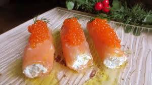 canap au saumon fum et mascarpone cannelloni de saumon mascarpone et aneth recette par je cuisine
