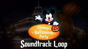 halloween parties nyc 2017 mickey u0027s halloween party music full soundtrack youtube