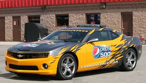 chevrolet camaro styles chevrolet camaro pace car arrives at nascar in style