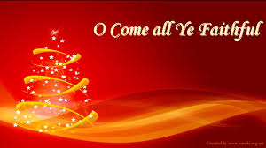 o come all ye faithful lyrics