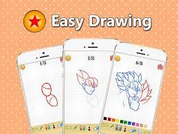 draw dbz super saiyan android apps google play