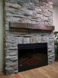 fake stone fireplace ideas home design ideas