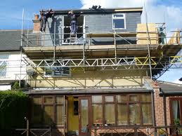 Dormer Window With Balcony Constructing A Rear Dormer Window On This Sheffield Loft