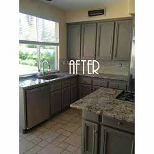 Paint Kitchen Cabinets Before After Chalk Paint Kitchen Cabinets Before And After Ava Home Design