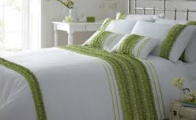bedding set green bedding amazing green and white bedding from