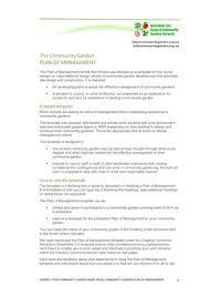 community garden management plans u2013 acfcgn