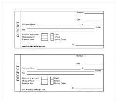 printable cash receipt book receipt book template word receipt template
