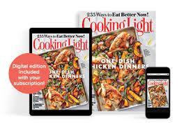 cooking light subscription status cooking light subscription offer