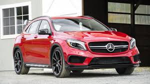 mercedes benz jeep red 2015 mercedes benz gla250 4matic gla45 amg review autoevolution