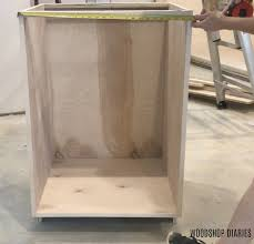 how to build a base for cabinets to sit on diy kitchen cabinets made from only plywood