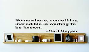 top selling decals prices reduced somewhere something carl sagan famous inspirational life quote picture art image living room bedroom home decor graphic