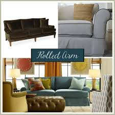 Curved Arm Sofa sofa arm styles picking the perfect one the stated home