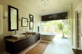 Laminate Ceramic Flooring Modern Luxury Master Bathroom Wall Mounted Square Porcelain Right