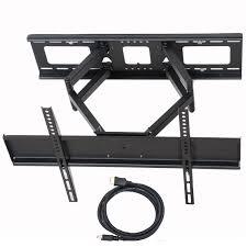 Tv Swing Arm Wall Mount 42 Videosecu Tilt Swivel Full Motion Tv Wall Mount Dual Arm Bracket