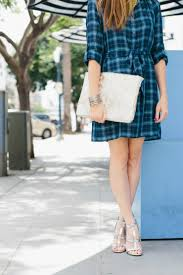 how to style a plaid shirt dress 3 ways art in the find