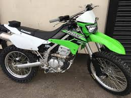 kawasaki klx 250 2015 65 reg low mileage great comuter bike in