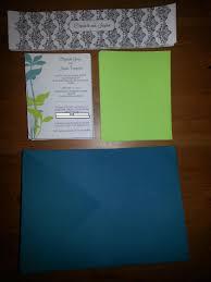 our diy vista print invitations are done wedding invitations