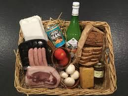 Breakfast Basket Luxury Breakfast Hamper For Two Smallicombe Farm Holidays