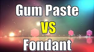 fondant vs gum paste difference between fondant and gum paste