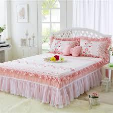 Girls Bed Skirt by Online Get Cheap Cotton Bed Skirt Aliexpress Com Alibaba Group
