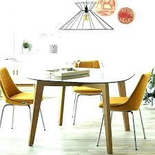 table de cuisine ronde en verre table de cuisine ronde salle a manger lumineuse avec une table ronde