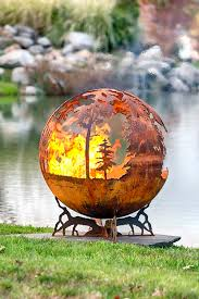 Unique Fire Pits by Australia Fire Pit Sphere Down Under The Fire Pit Gallery