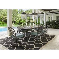 Home Decorators Colection Home Decorators Collection Outdoor Madrid 7 Piece Patio Dining Set