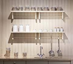 Wood Wall Mounted Shelving Kitchen Mesmerizing Wall Mounted Kitchen Shelves To Complete