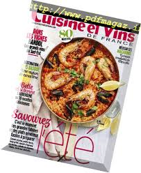 cuisines et vins cuisine et vins de hors serie mai 2018 pdf